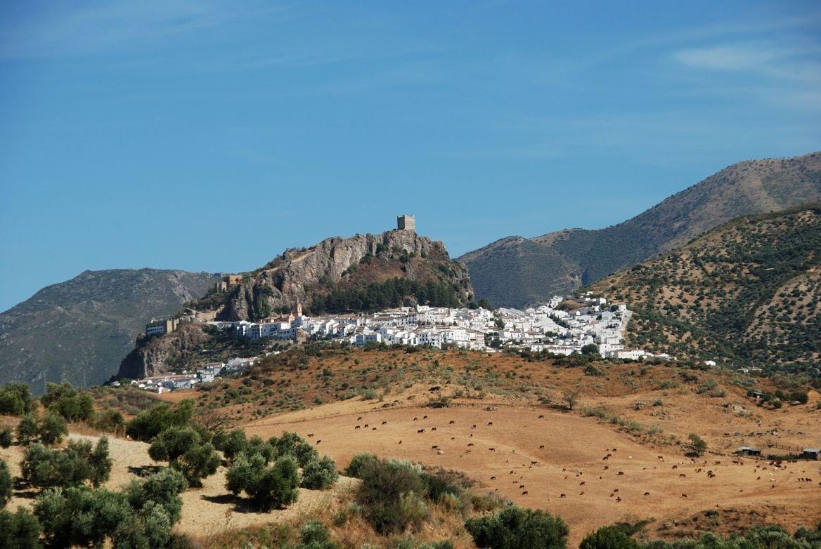 Zahara de la Sierra, Andalousie
