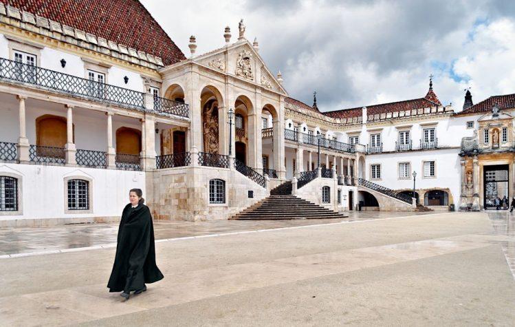 Le paço das Escolas, Coimbra, Portugal