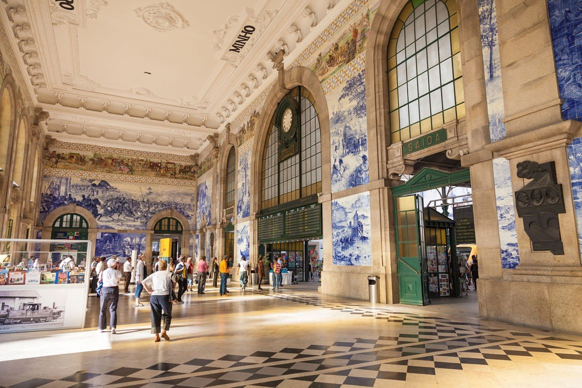 Azulejos de la gare São Bento à Porto