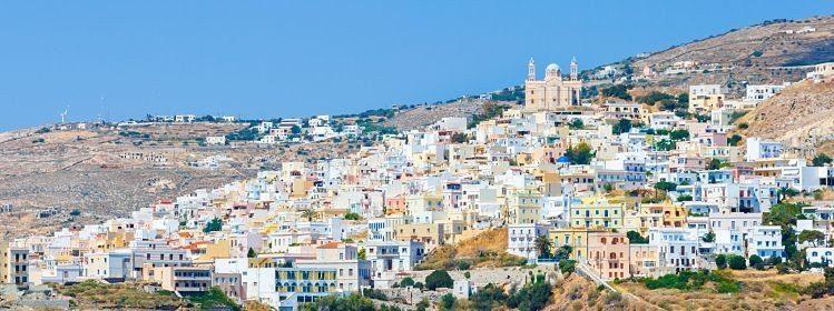 Ermoupolis sur l'île de Syros, Cyclades ©Nick Pavlakis/Shutterstock.com