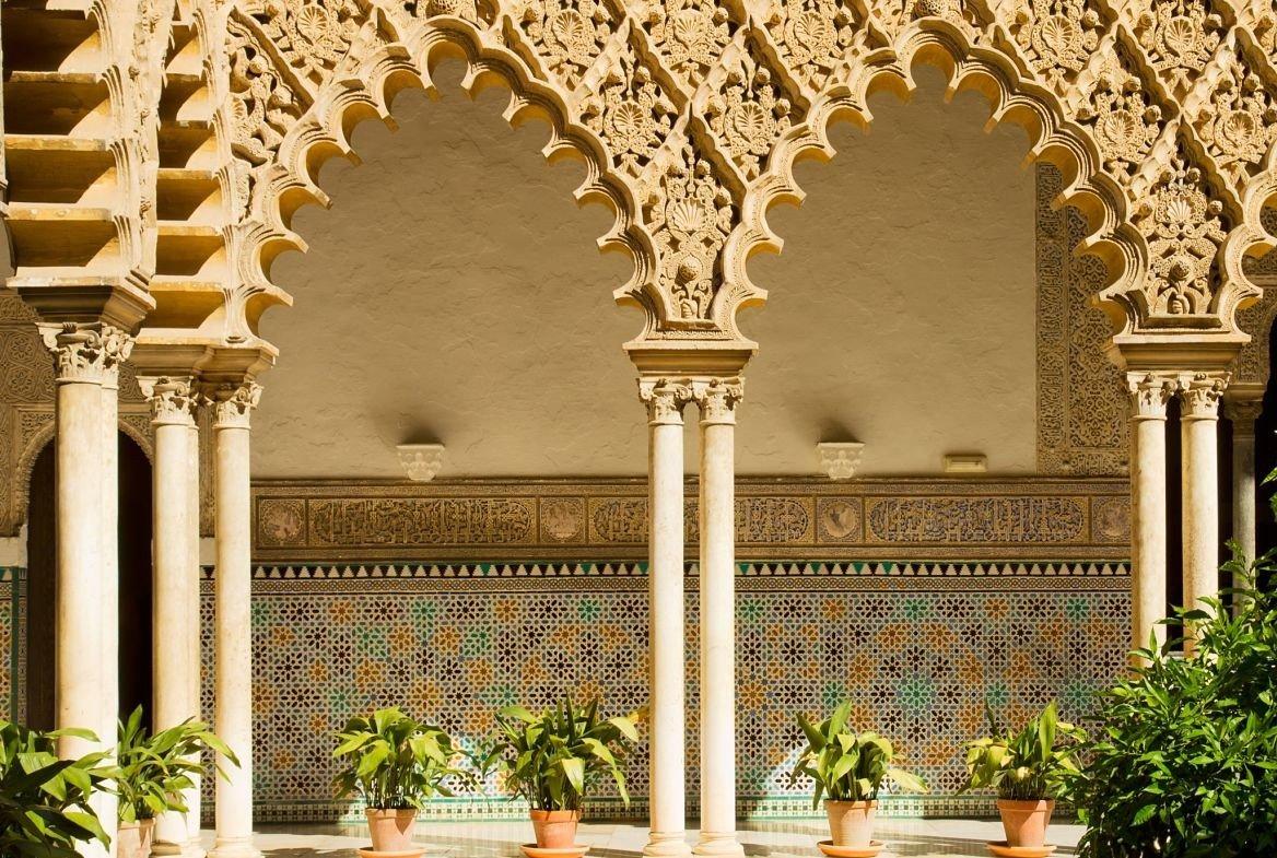L'Alcázar de Séville, Andalousie