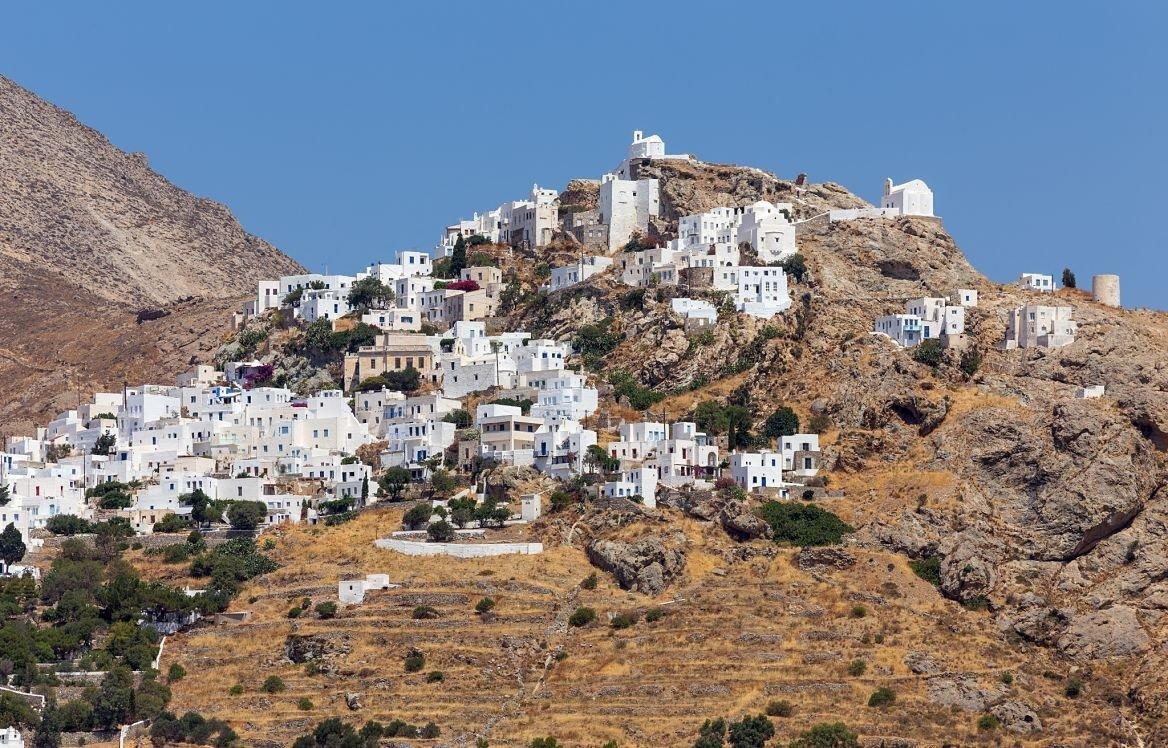 Un village sur l'île de Serifos, Cyclades