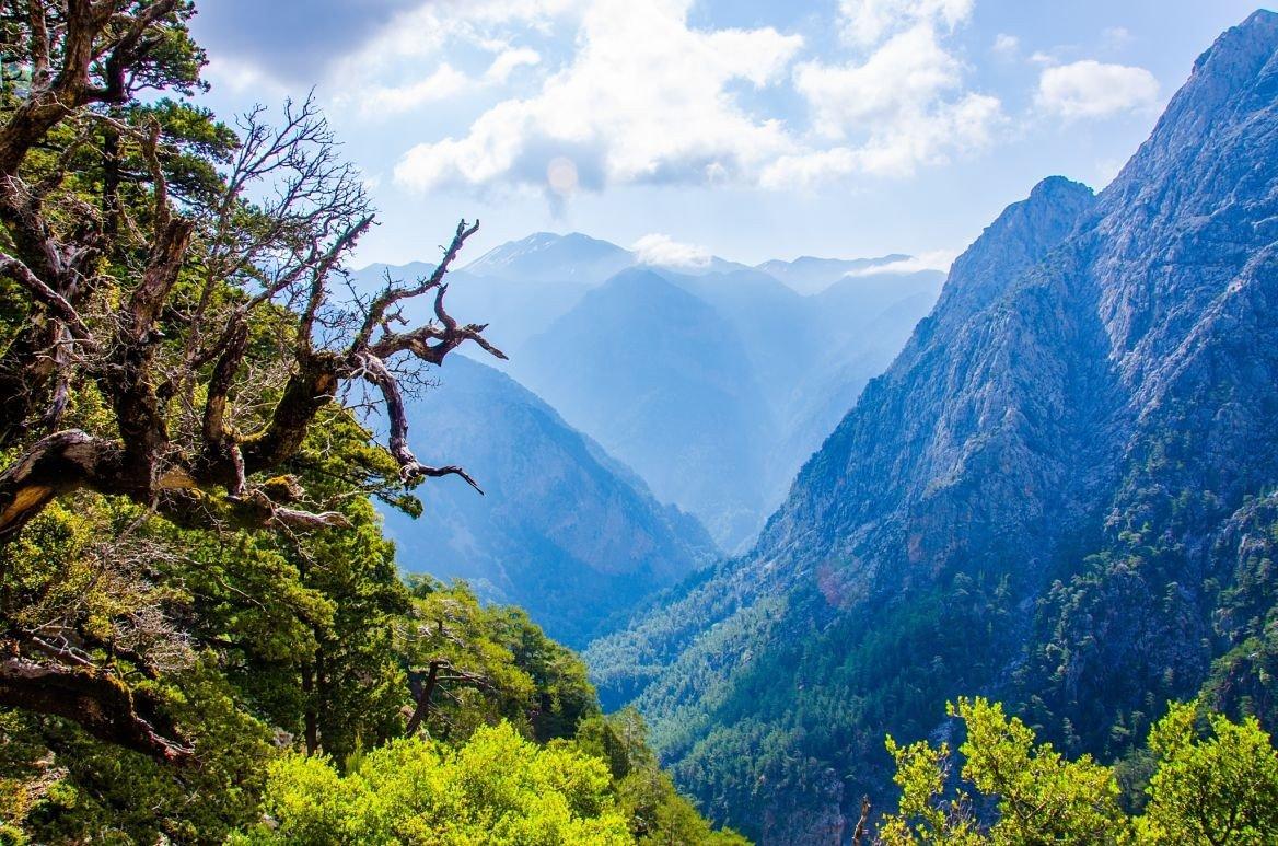 Le parc national des gorges de Samaria, Crète
