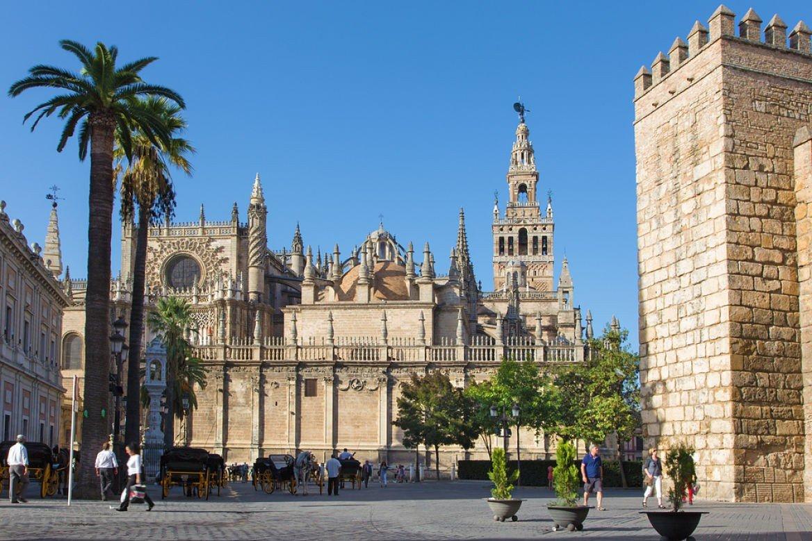 La cathédrale de Séville, Andalousie