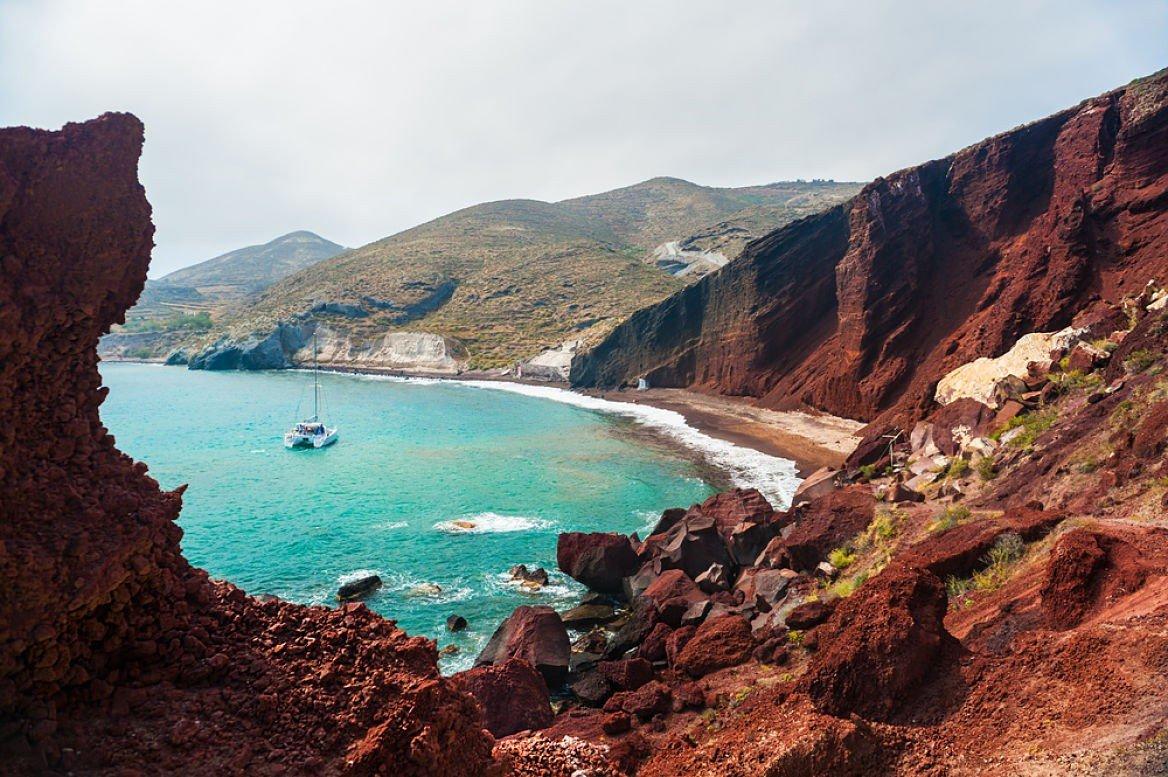 Île de Santorini, Cyclades