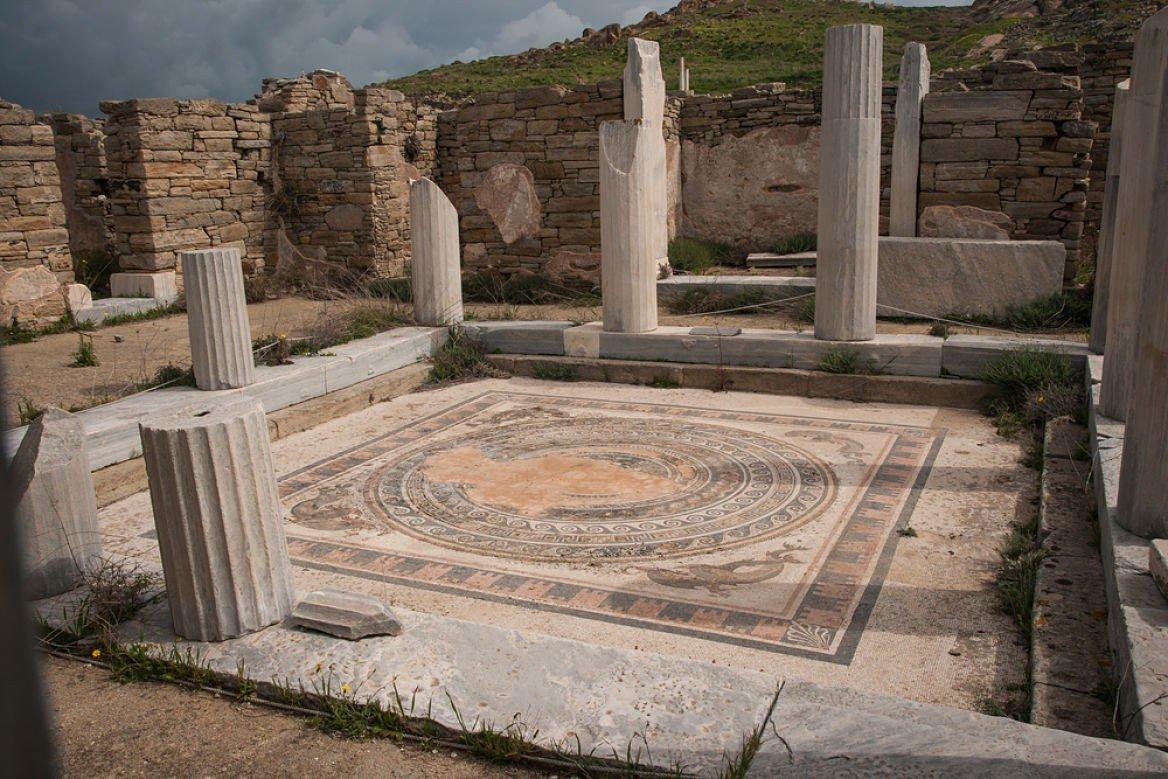 Ruines de l'île de Délos, Cylades