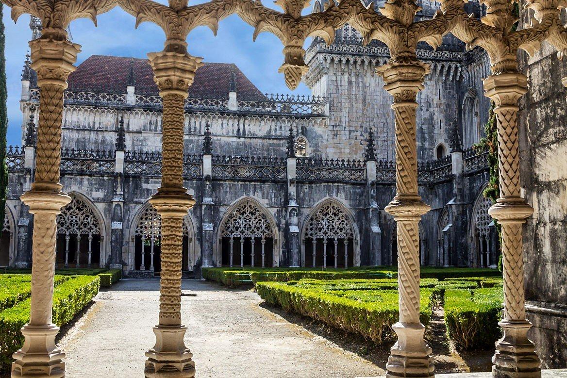 Le cloître du monastère de Batalha