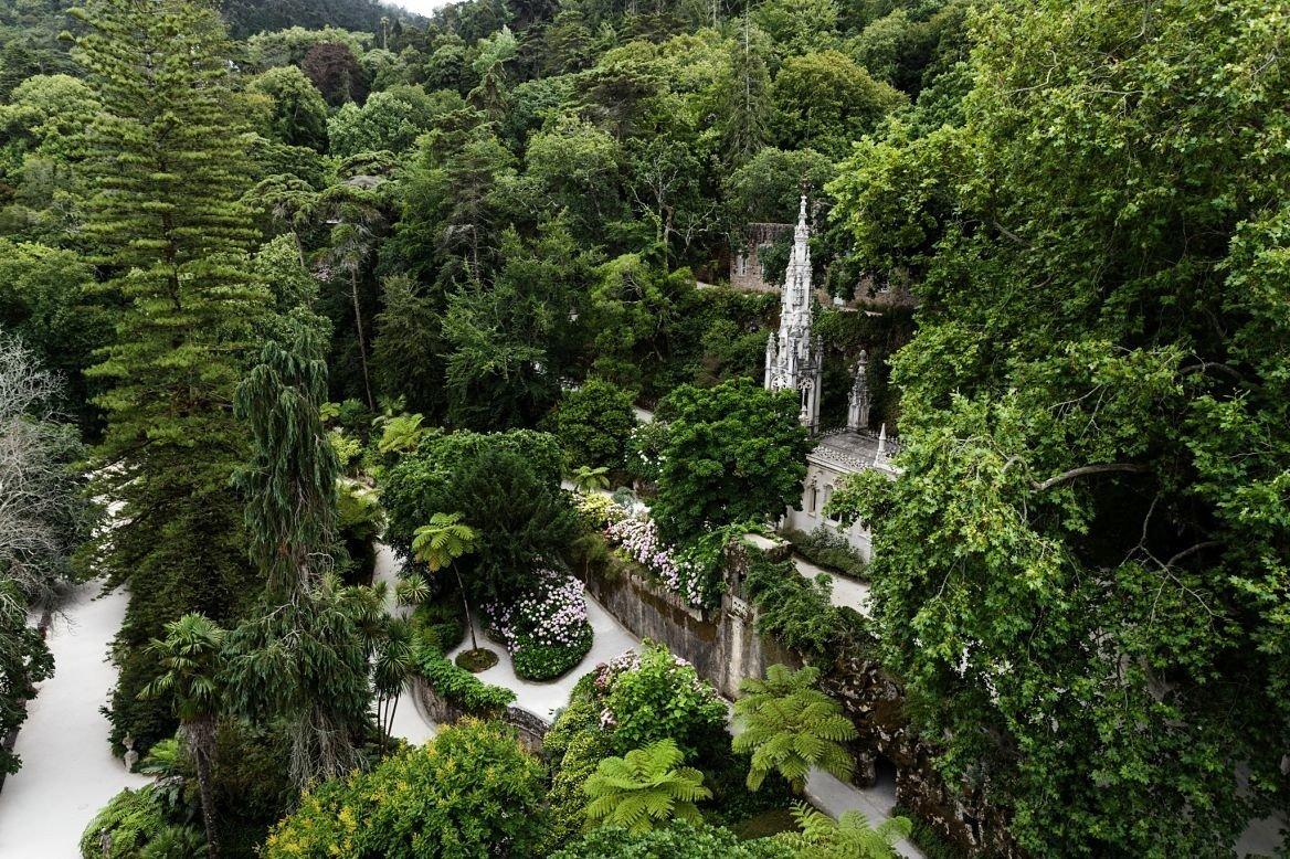 Les jardins de la Quinta da Regaleira, Portugal