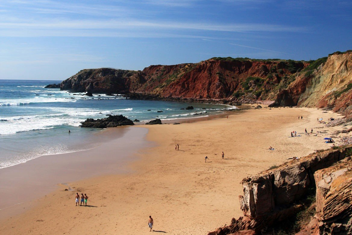 La praia do Amado au Portugal