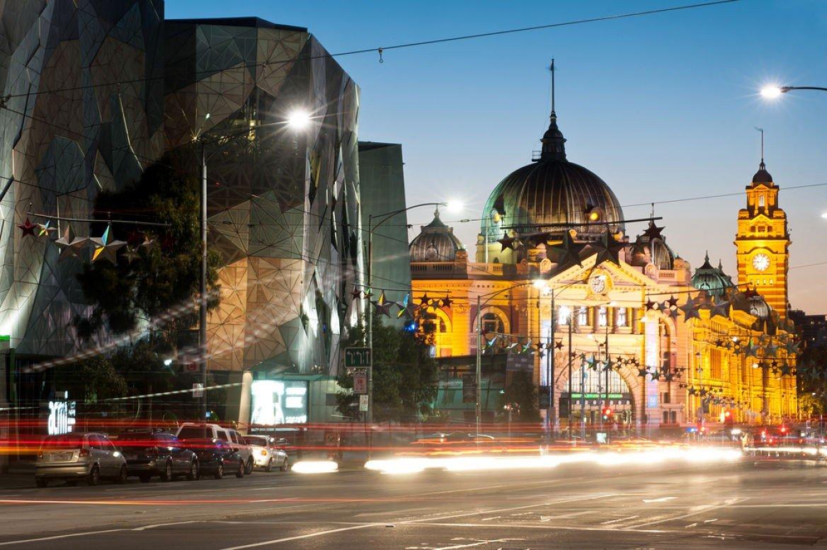 Flinders station & museum, Melbourne