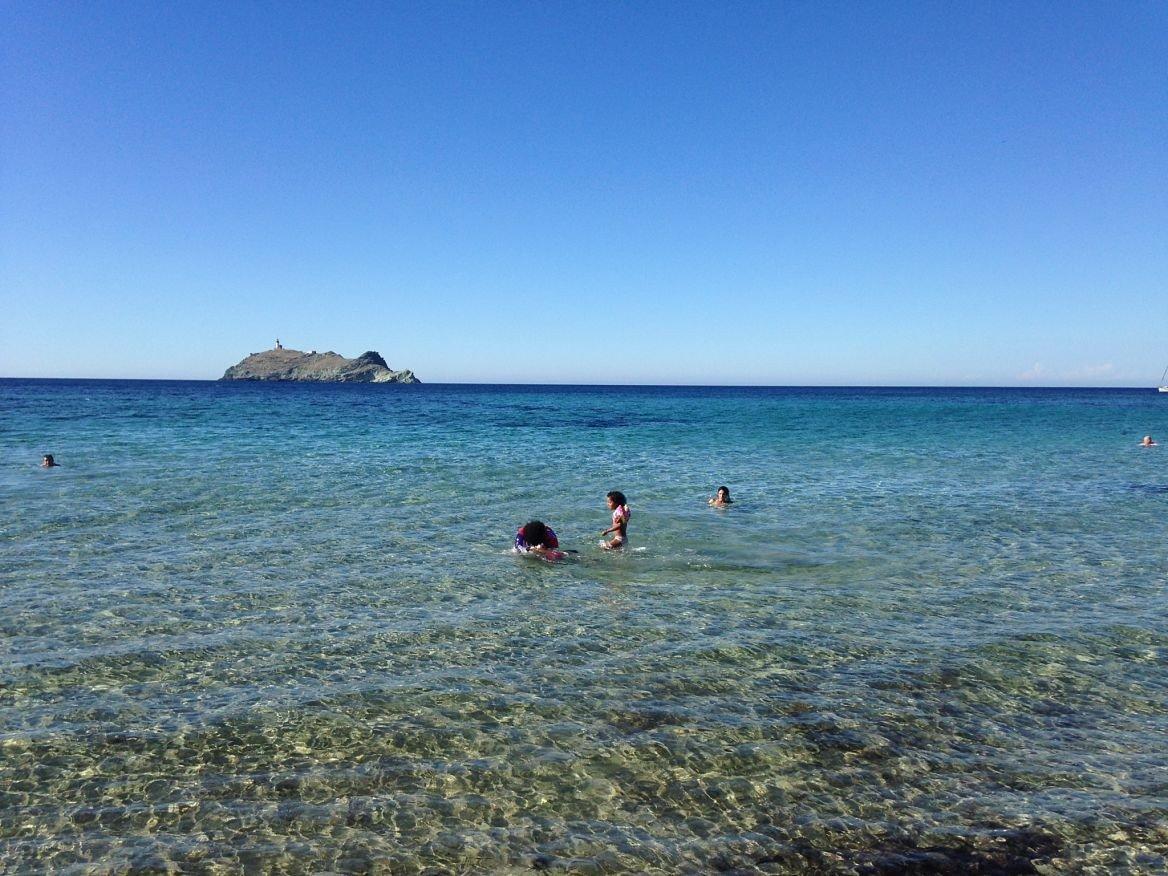 La plage de Barcaggio, Corse