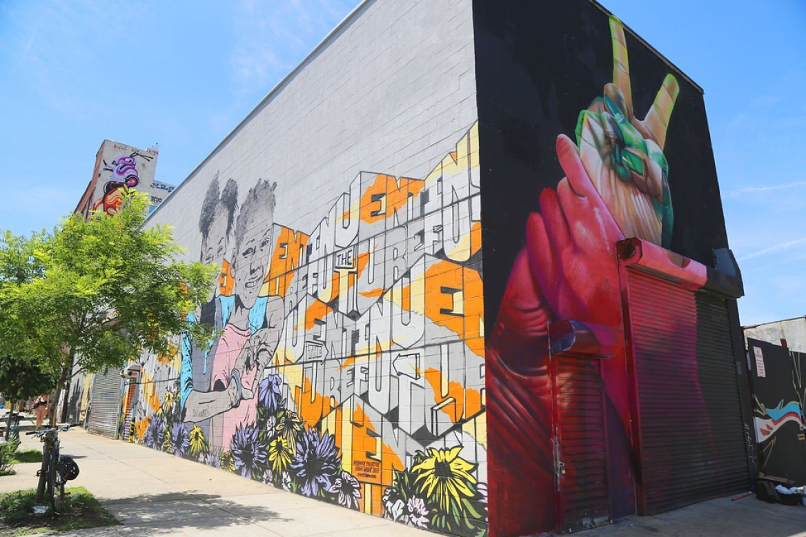 Fresque de Street, Bushwick Collective, New York