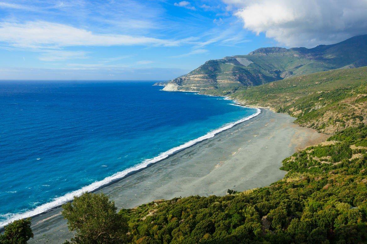 Plage de Nonza, Cap Corse
