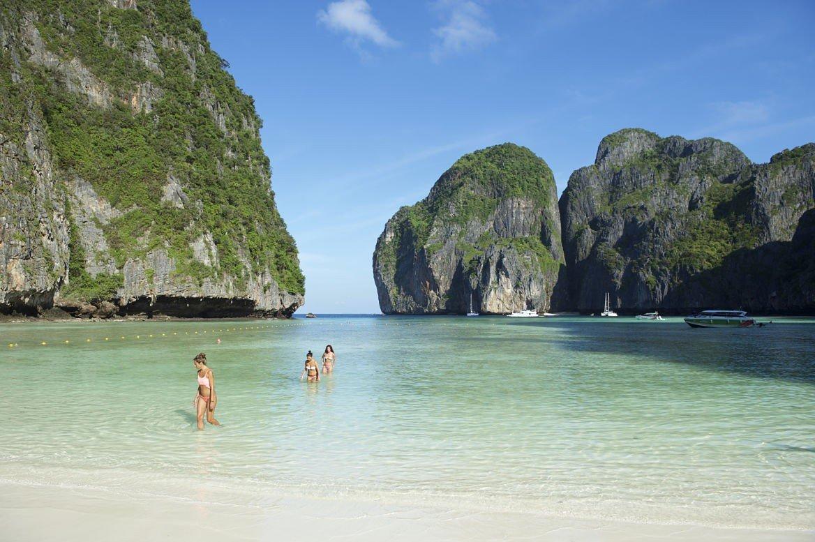 Maya beach, Phi Phi Ley, Thaïlande