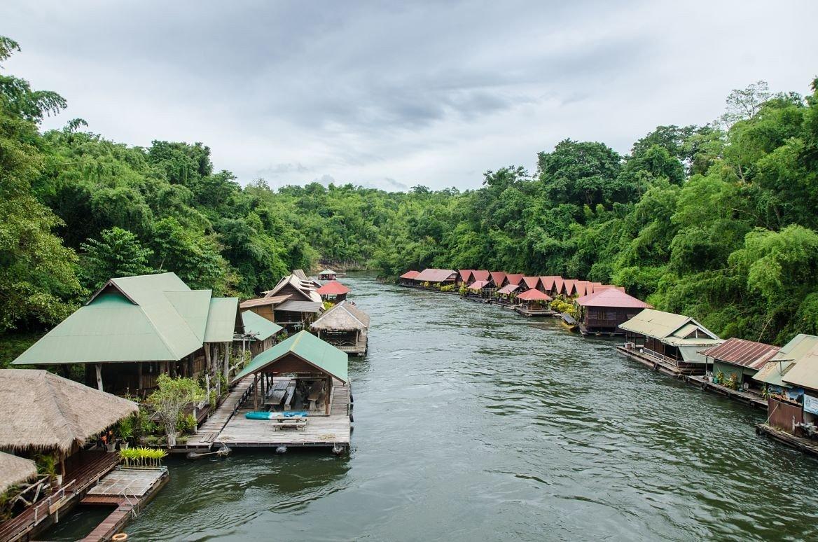 La rivière Kwaï, Thaïlande