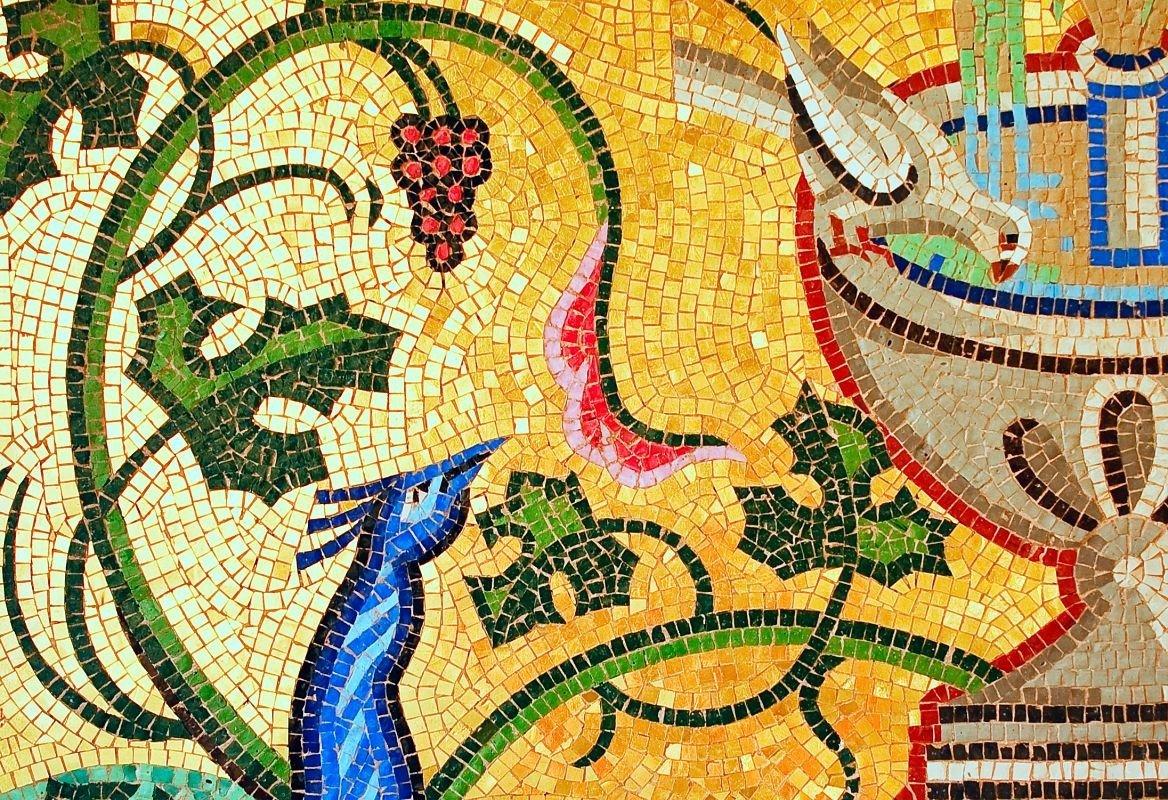 L'art de la mosaïque au monastère de Kykko, Chypre