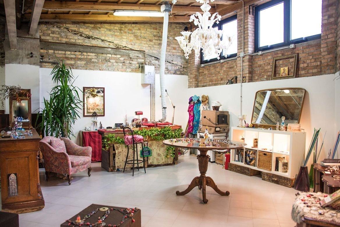 Atelier de Muriel Balensi à Murano, Venise, Italie