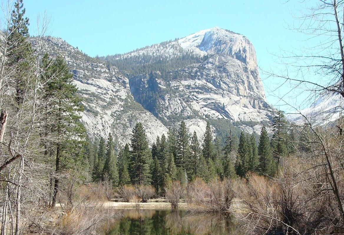 Le Half Dome, Yosemite, Californie