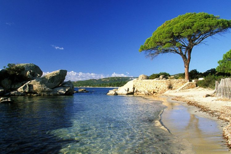 Plage de Palombaggia, Corse France plage