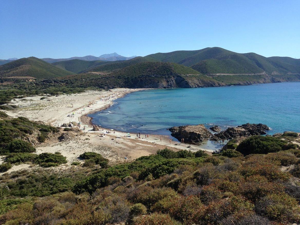 La plage de l'Ostriconi, Corse