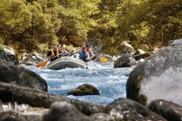 Rafting sur la Tara, Monténégro
