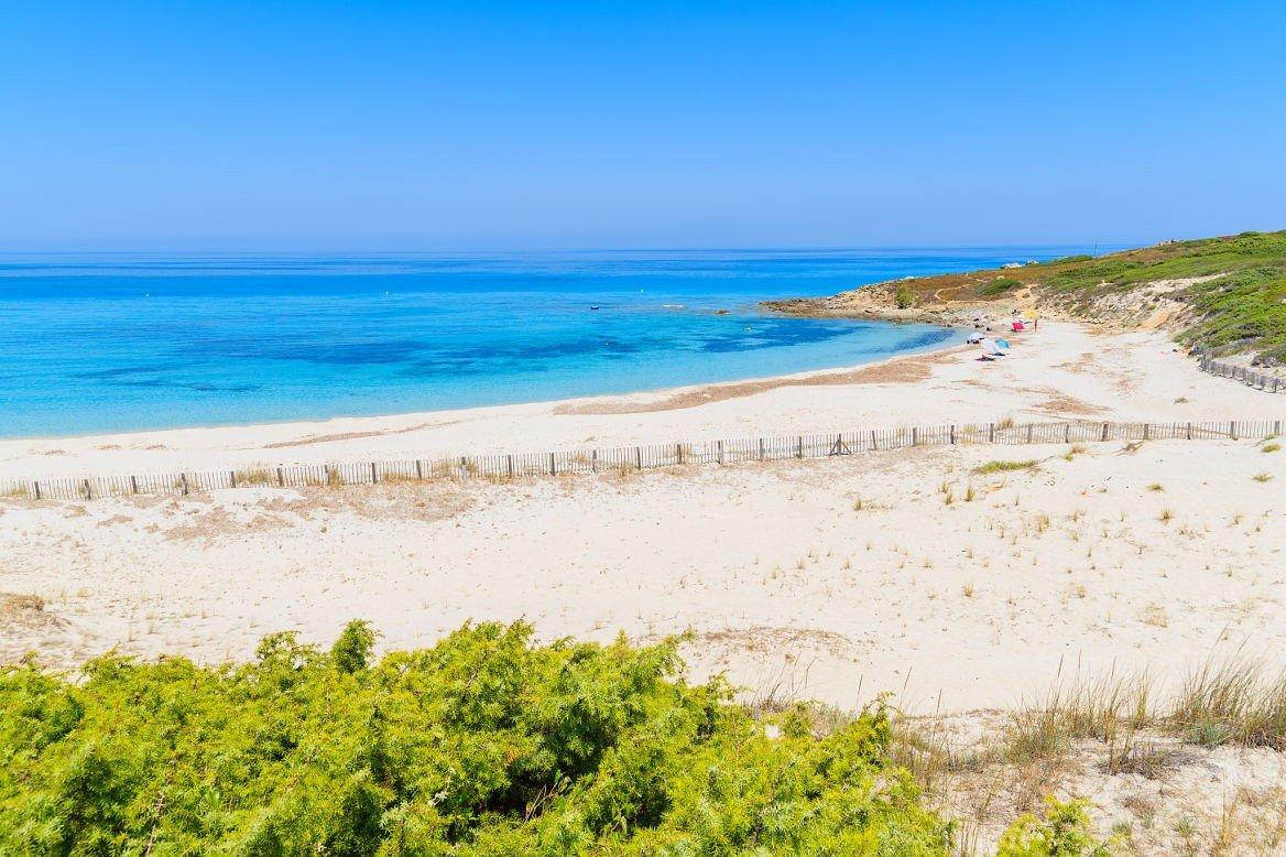 Plage de Bodri, Corse