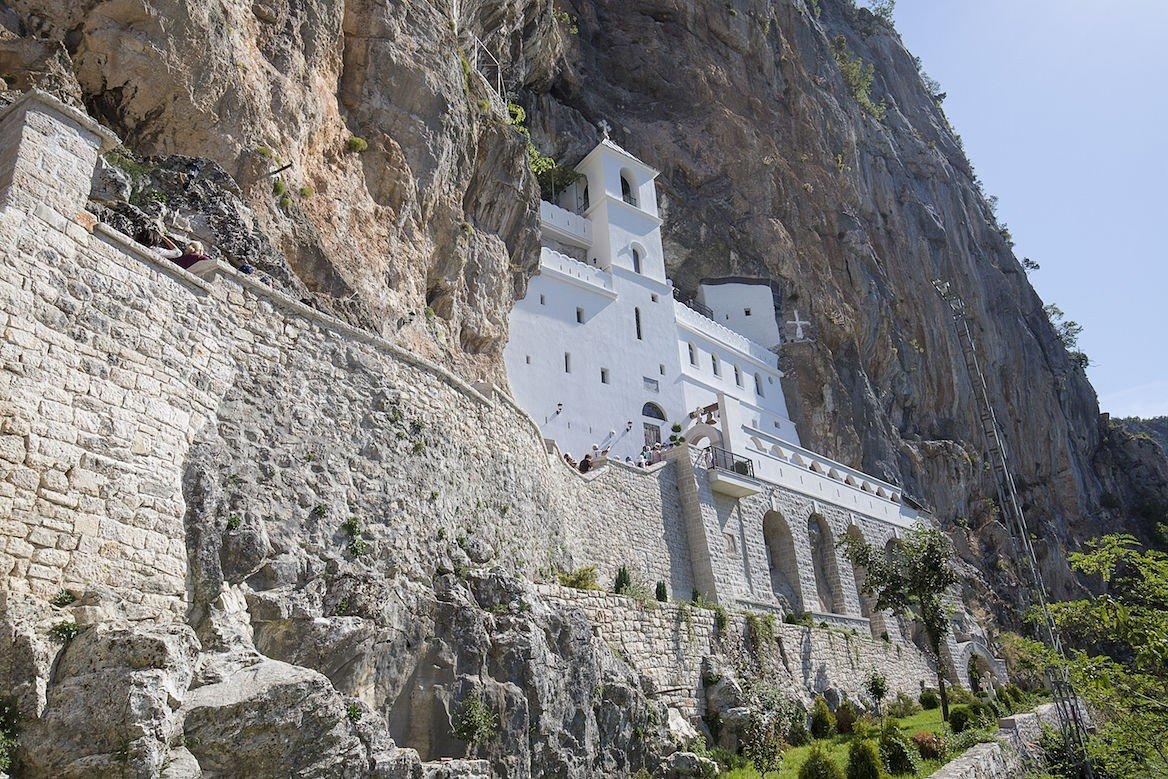 Le monastère d'Ostrof