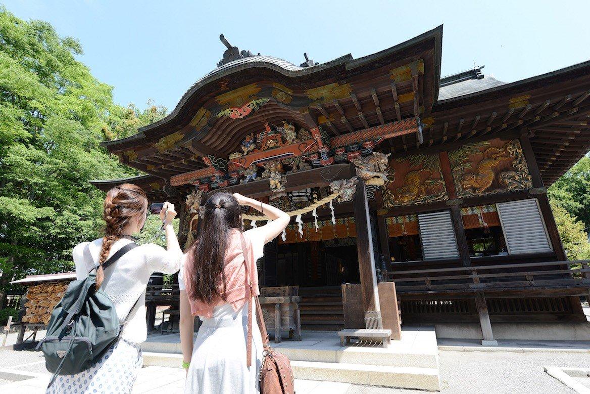Le sanctuaire de Chichibu-jinja, dans la ville-même de Chichibu, sert chaque année de cadre à plusieurs manifestations.