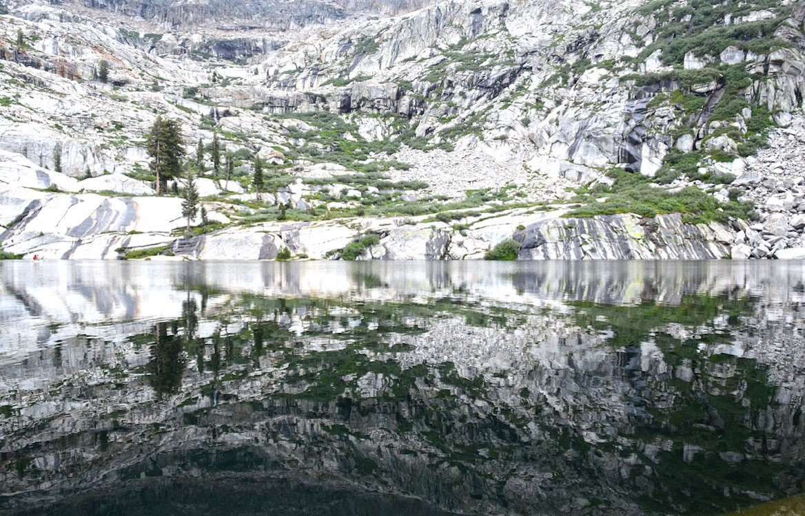 Emerald and Pearl Lake, sur le Lake Trail