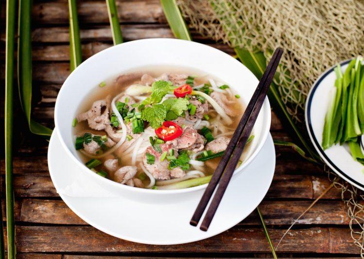 Soupe de boeuf traditionnelle du Vietnam