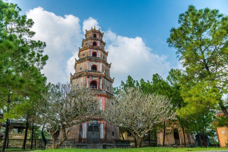 La pagode de la Dame céleste à Hué incontournables vietnam