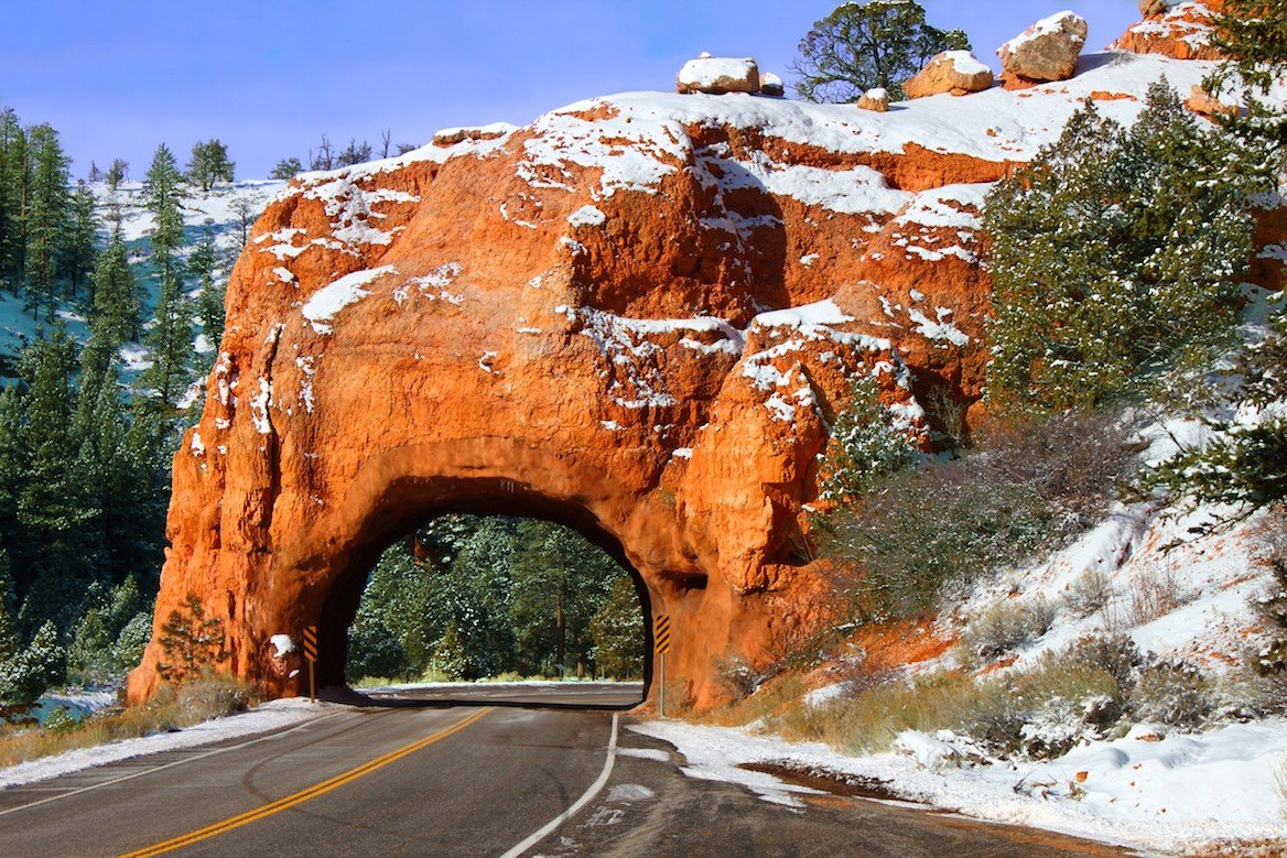 Bryce Canyon National Park en hiver