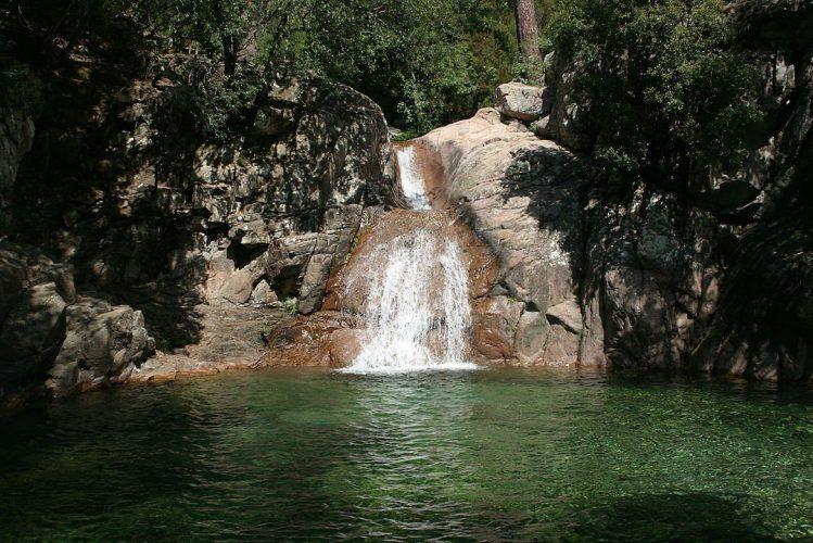 Cascades de Polischellu corse