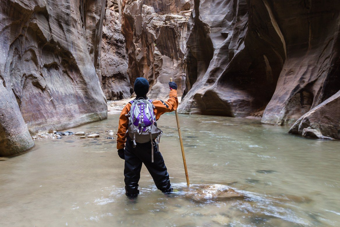 Canyoning dans The Narrows