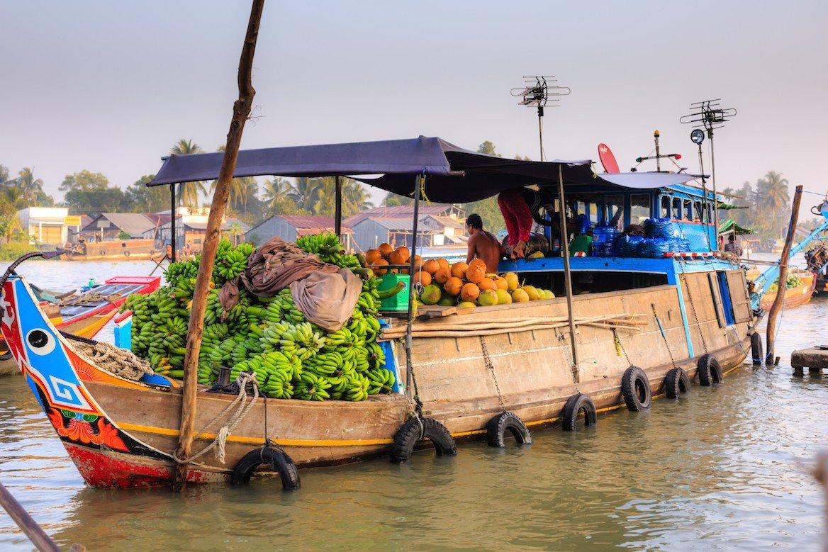 Marché flottant de Can Tho © Quang nguyen vinh/shutterstock