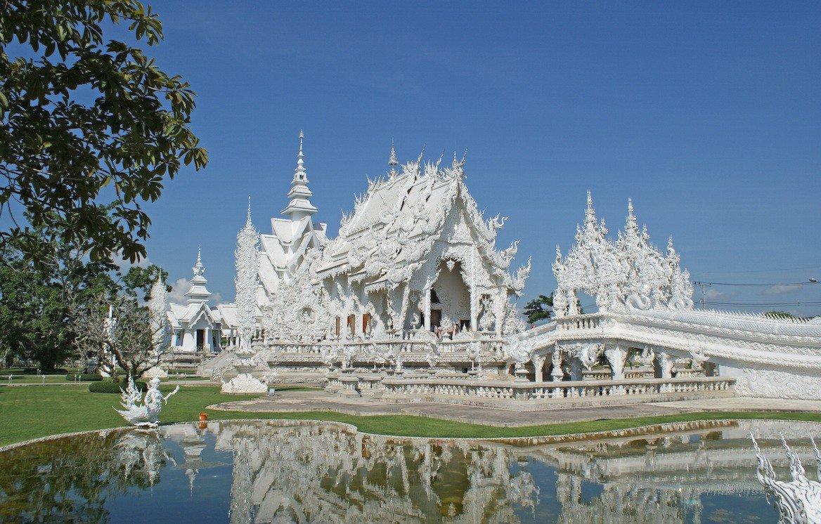 Le Temple blanc, dans les environs de Chiang Raï