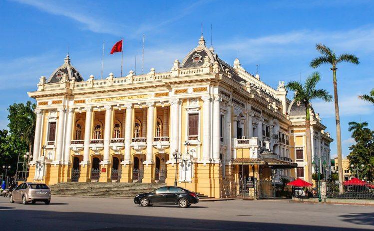 L'Opéra d'Hanoï, Vietnam