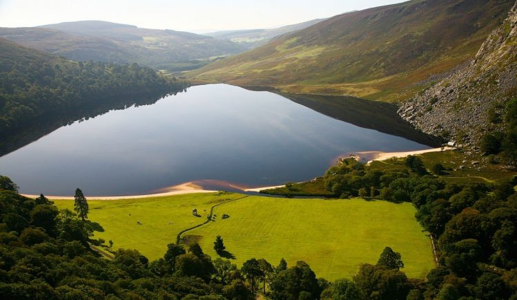 road trip irlande lough tay