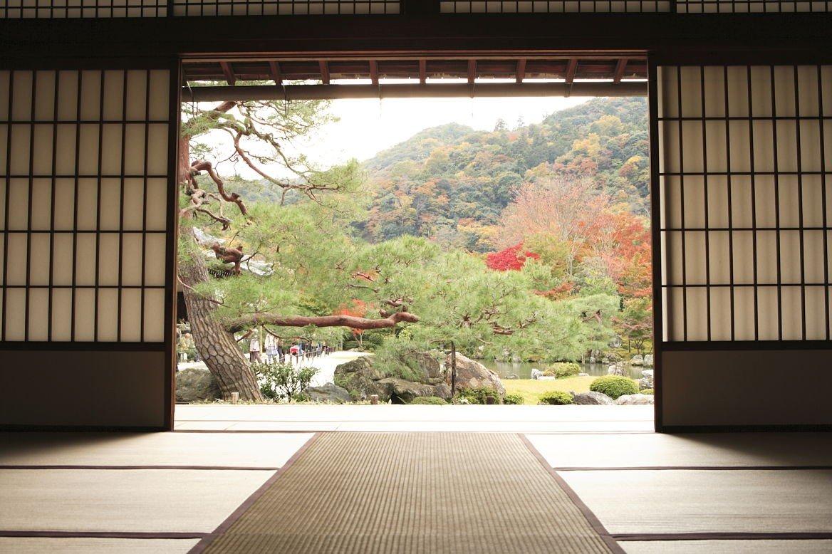 Temple de Tenryu-ji à Arashiyama, Kyoto