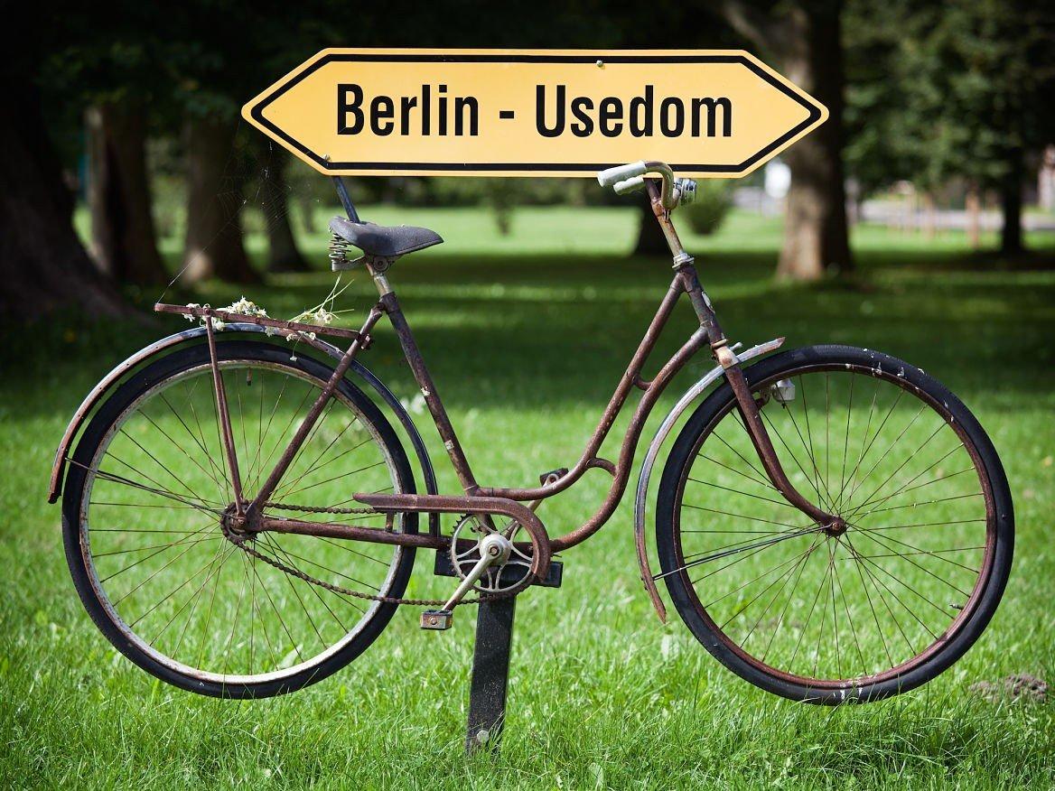 Panneau de piste cyclable, Berlin