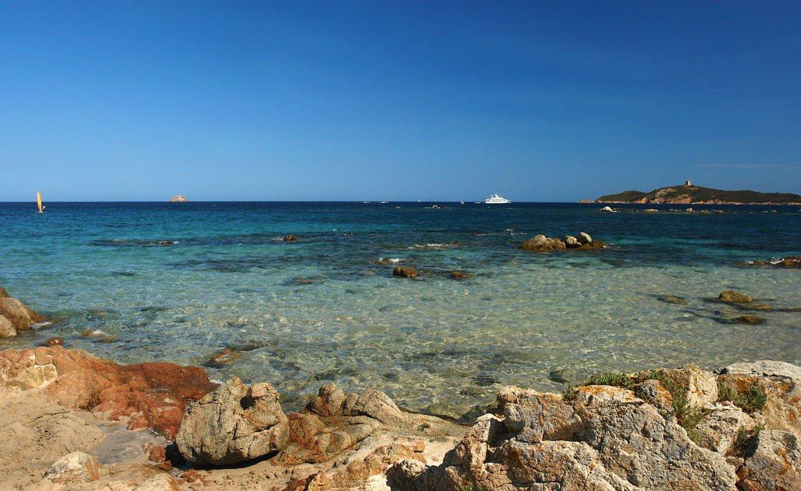 Plage de Pinarello, Corse