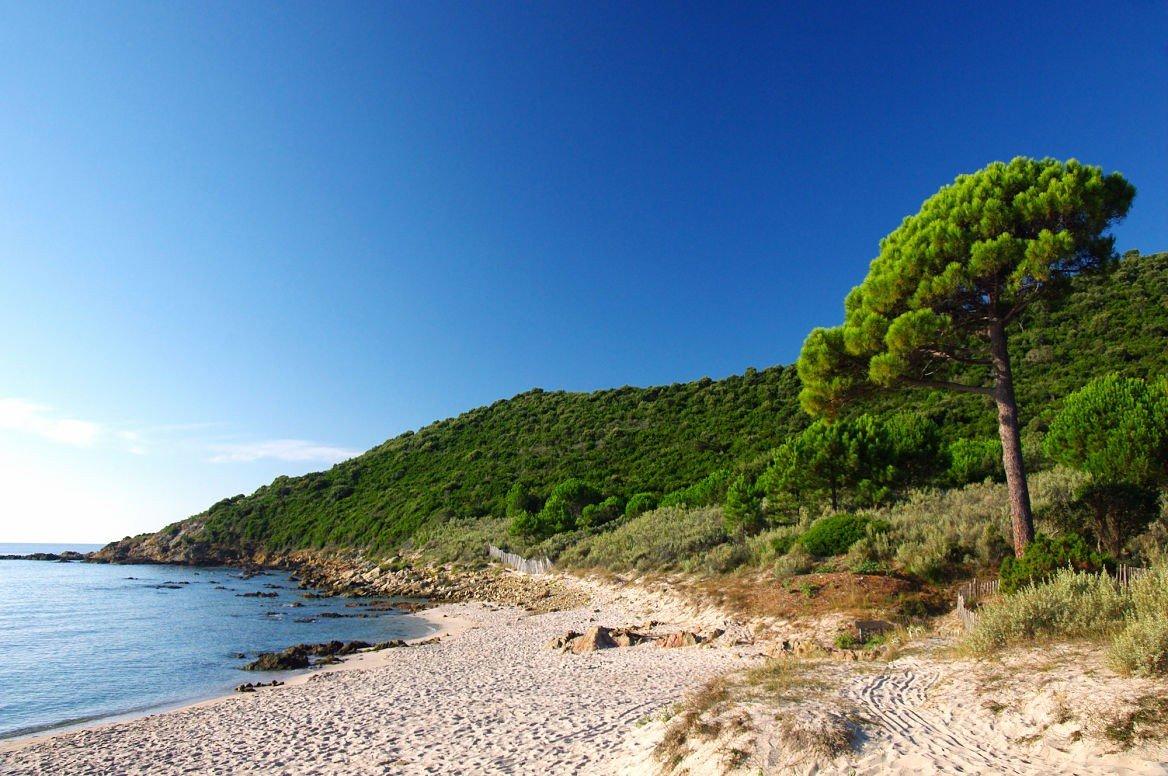 Plage de la Fautea, Corse