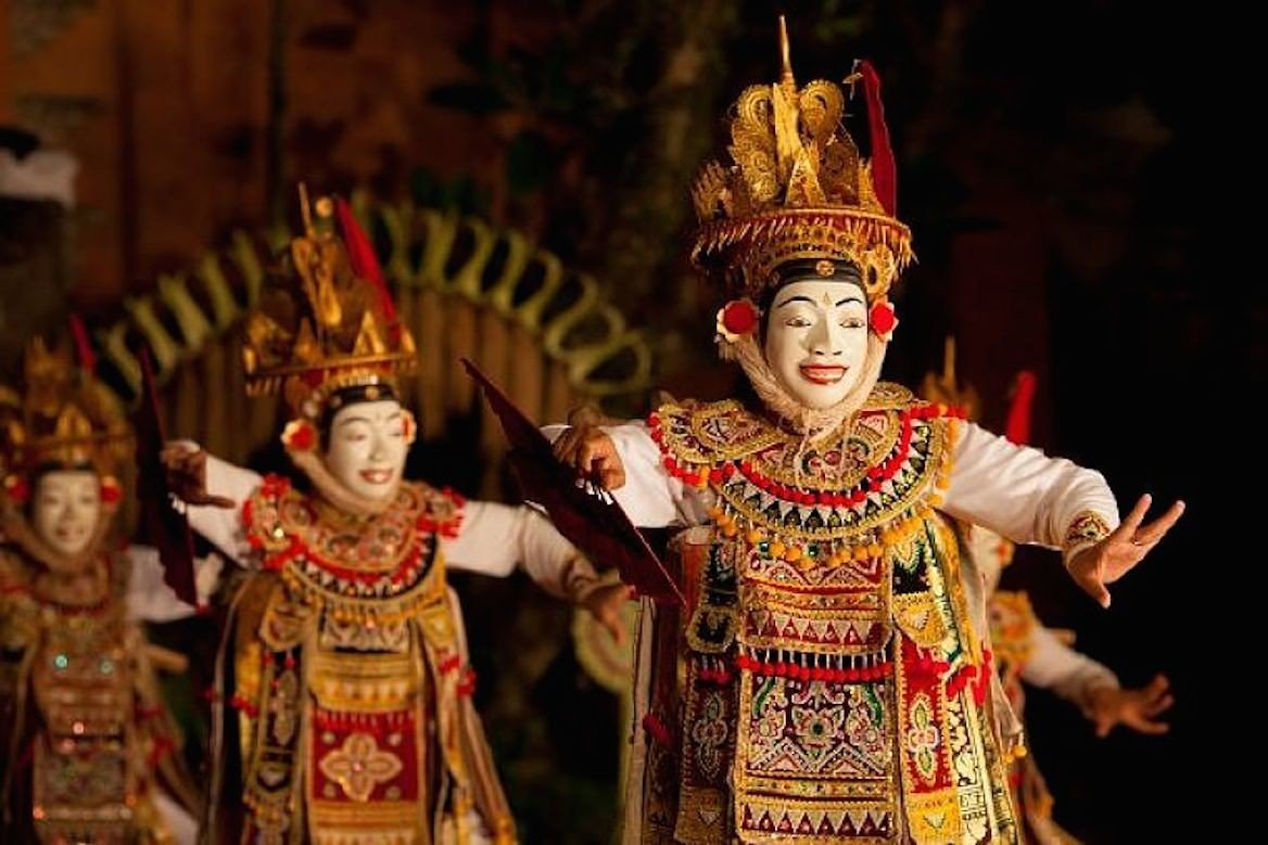 Danse traditionnelle à Ubud, Bali