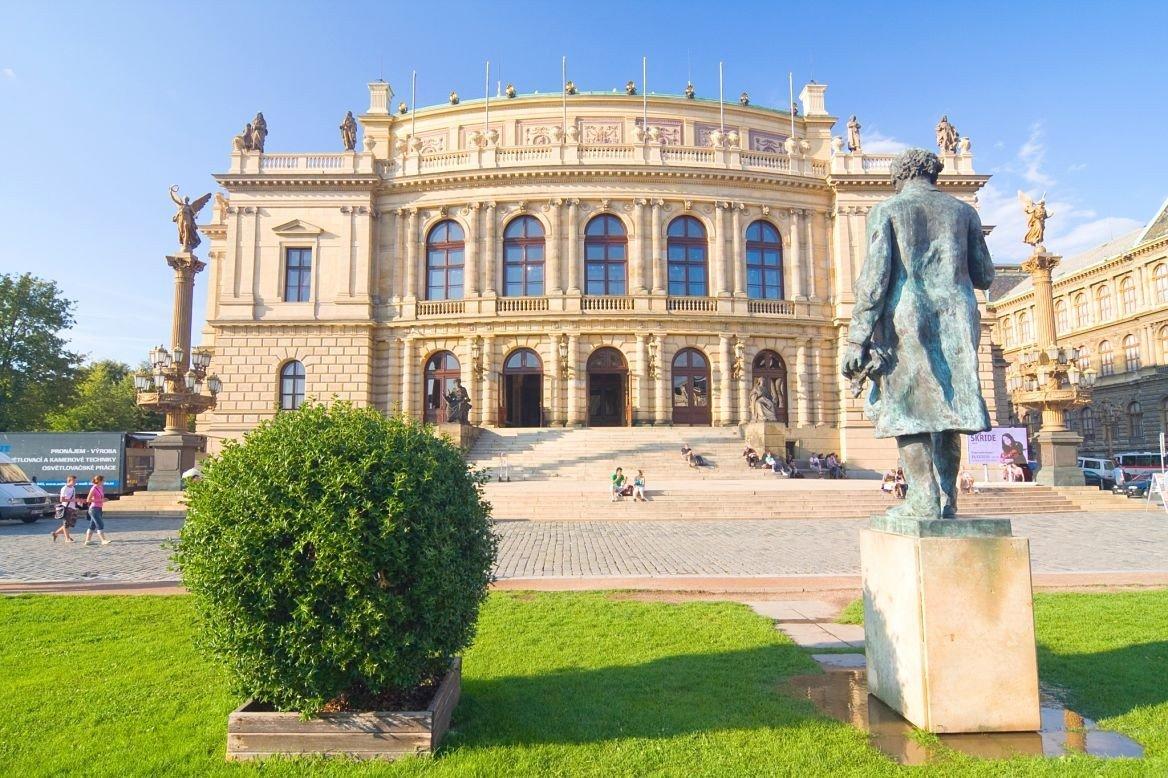 Le Rudolfinum à Prague ©Dziewul/shutterstock