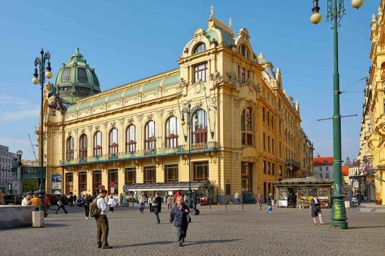 La maison municipale, incontournable de Prague