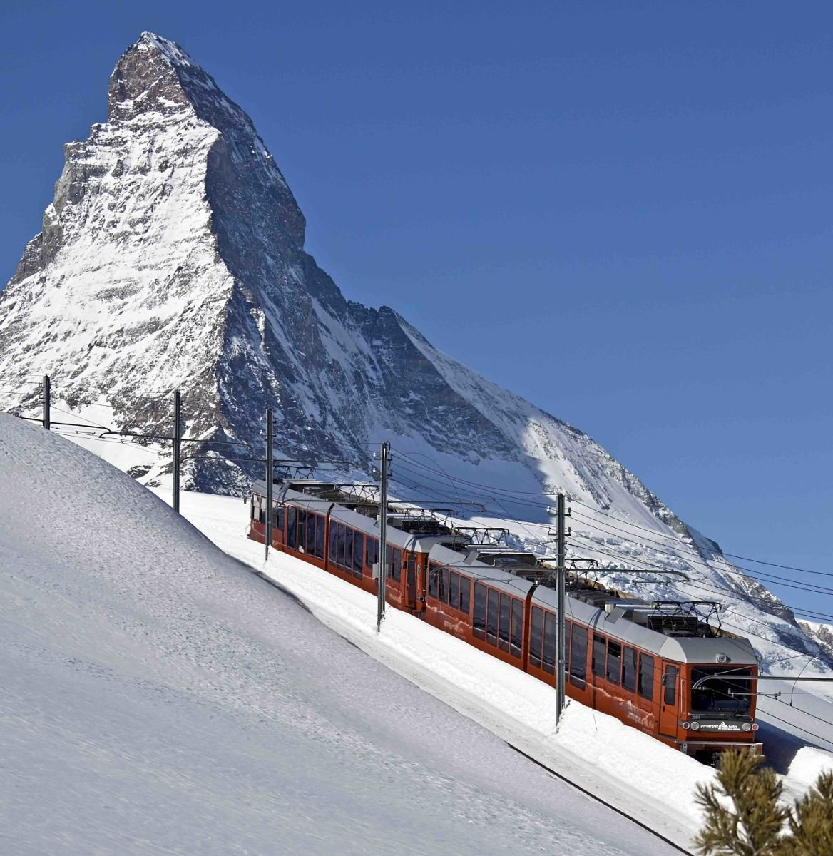 Le Gornergrat Bahn © Matterhorn Gotthard Bahn/Die Gestalten Verlag GmbH&Co. KG, 2015
