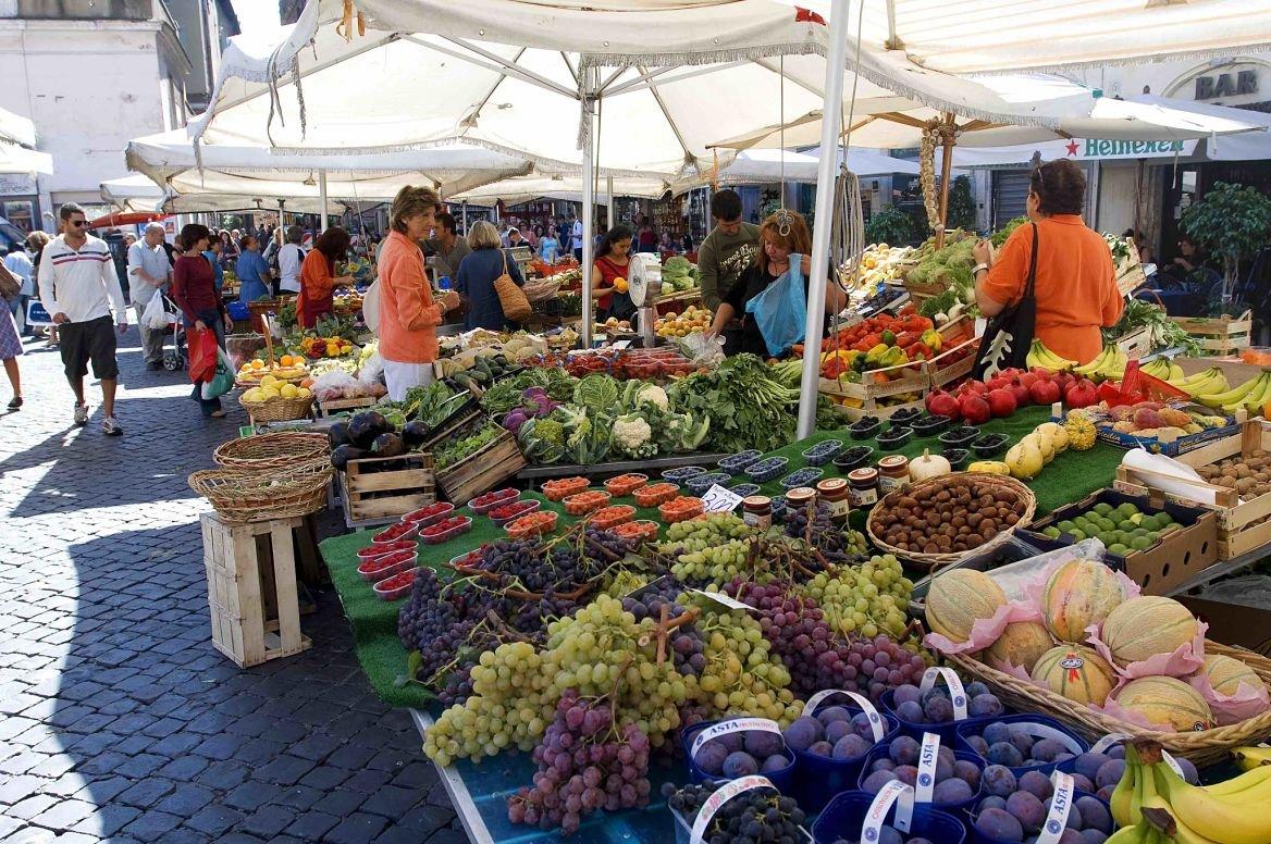 Le marché du Campo dei Fiori © MATTES René / hemis.fr
