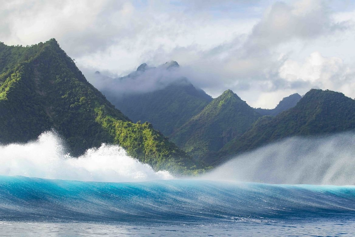 La vague de Teahupoo © Ben Thouard