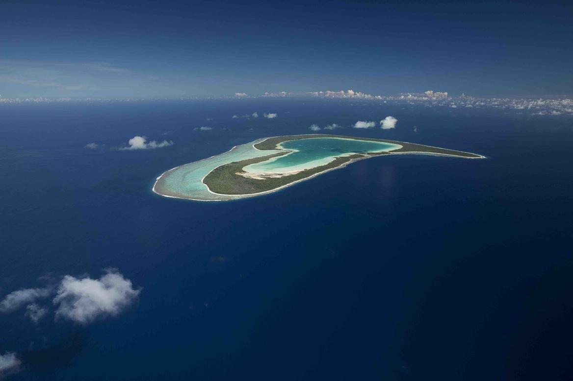 Vue aérienne de Tupaï © Ben Thouard