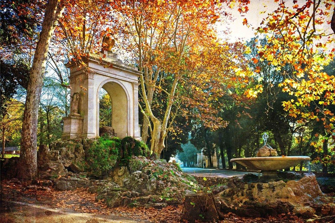 Le parc de la villa Borghese ©lapas77/Shutterstock